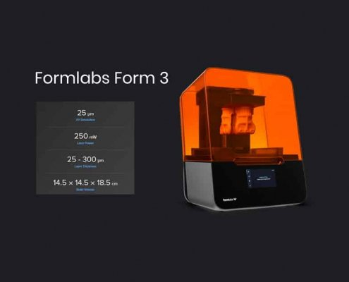 Formlabs Form 3 Druckgrößen